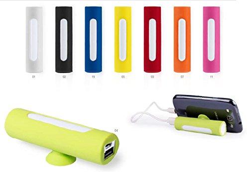 20 stuks Power Bank 2200 mAh met kabel in geschenketui van DESING – verschillende kleuren, koop voordelig online