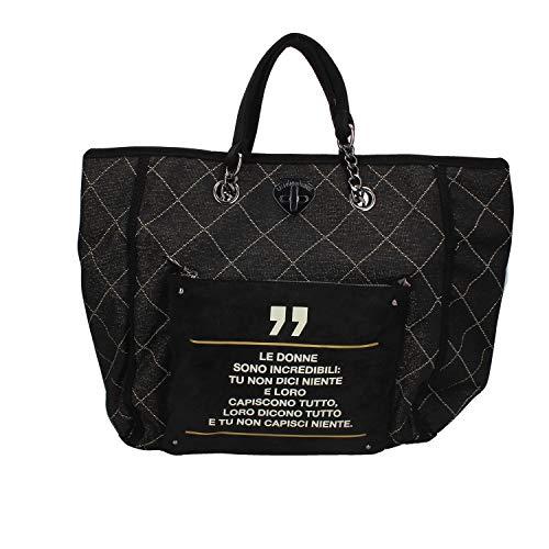 Borsa Donna Shopping Incredibili   Le Pandorine   AI19DAU0240012-Black
