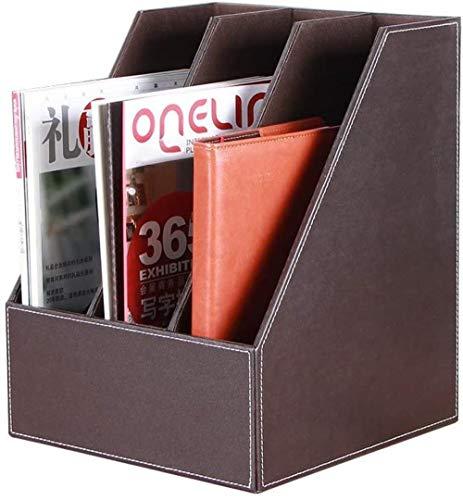 Multifunktionaler Haushalts-Aktenhalter Zeitschriftensammler Moderner, minimalistischer Stil Dateifüller Aufbewahrungsbox Schreibwaren Aufbewahrungsbox, Farbe: B (Farbe: B)