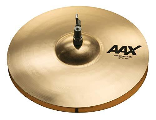 Sabian AAX 14' X-Plosion Hi-Hat Cymbals, Brilliant Finish