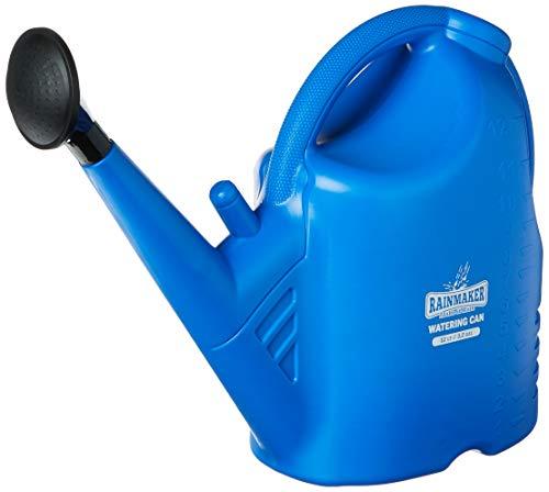 Rainmaker HGC708916 Watering Can Comes Shower Remove It for A Pour Spout 3.2 Gal/12 Liter, 3.2 Gallon, Blue