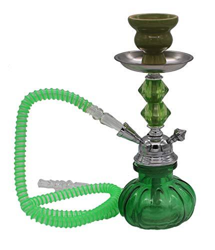 Hookah4sale-Small hookahs Green Beatle Vase Mini Hookah 1 Schlauch Narguile Pipes Shisha Rauchen Idee Geschenk