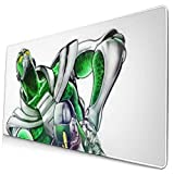 Ye Hua Extra Large Mouse Pad -Hierophant Green Jojo Desk Mousepad - 15.8x29.5in (3mm Thick)- XL Protective Keyboard Desk Mouse Mat for Computer/Laptop