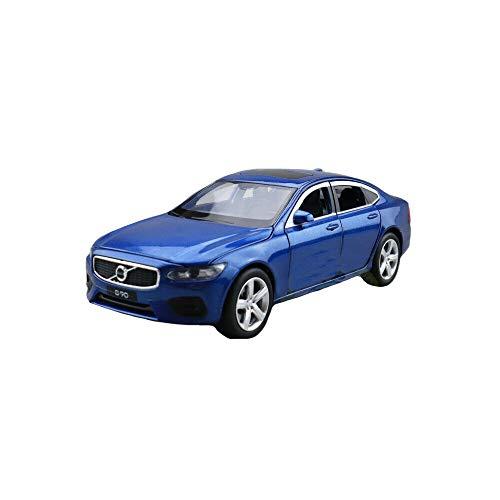 Model Car Sport Scale 1/32 Volvo S90 Shock Absorption Diecast Model CAR Model Toys Kids Gift Blue -  Model Car Sport - 169
