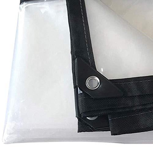 HCYTPL Helder dekzeil, waterdicht, stofdicht, hoogwaardig PE-kunststofdoek voor vloerbedekking, plantenschuur, dikte 0,12 mm