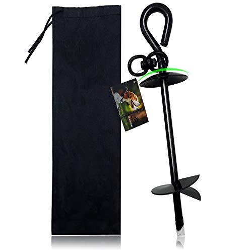 Premium Dog Tie Out Stake, Extra Heavy Duty Dog...