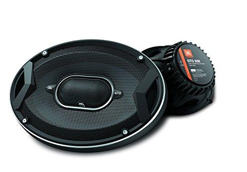 "JBL GTO939 GTO Series 6x9"" 300W 3 Way Black Car Coaxial Audio Speakers Stereo"