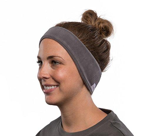 SleepPhones v6 Wireless Bluetooth Portable Headband Headphones - Comfortable for Sleeping, Travel, Yoga, Meditating, Relaxing, ASMR and Binaural Beats - Fleece, Soft Grey, Medium (fits most)