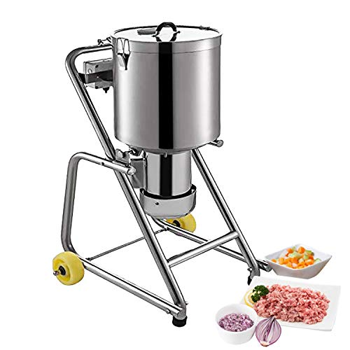 GorillaRock Food Chopper | 32 L | Large Food Processor | Stainless Steel | 1400RPM Motor | Wide Application | 110V