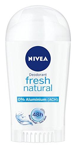 Nivea - Desodorante en barra para mujer, sin aluminio, protección desodorante, 40 ml