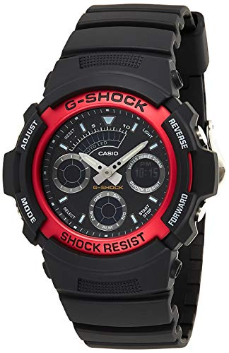 Casio G-Shock Herren Harz Uhrenarmband AW-591-4AER