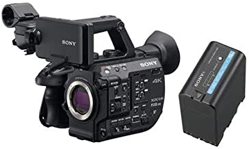 Sony PXW-FS5M2 4K XDCAM Compact Handheld Camcorder with Super 35 CMOS Sensor, Body Only BPU60 Rechargeable Lithium-ion 56Wh Battery Pack