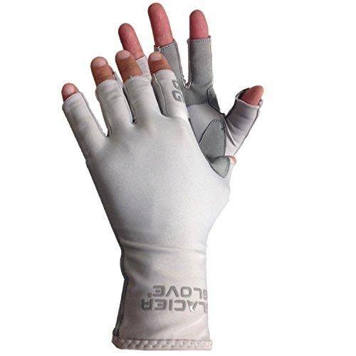 Glacier Glove Islamorada Sun Glove S - Grey
