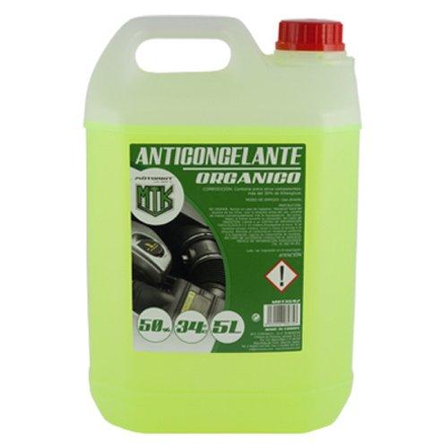 Motorkit MOT3542 Anticongelante, 5L, 50 %, Amarillo