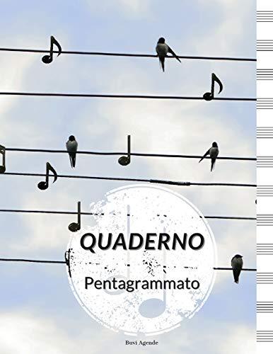 Quaderno Pentagrammato: Quaderno Per Scrivere Musica