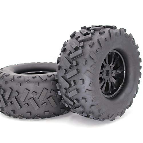 AKDSteel 1/8 Reifen Universal RC Auto Rad und Reifen Offroad Autoreifen Autoteile 170MM-Spielzeug Geschenk