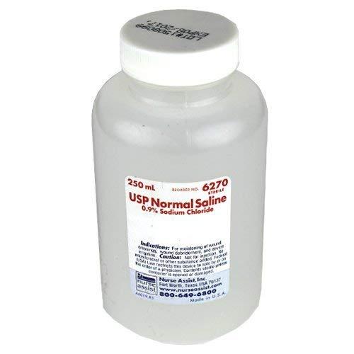 0.9% Sodium Chloride Sterile Saline 250ml