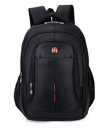 beibao shop Backpack Sacs à Dos pour Ordinateur Portable Commerce Casual Épaules 15,6 Pouces Nylon Imperméable Extérieur Multi-Fonctionnel Sac à Dos d'ordinateur