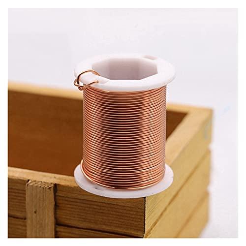 Artesanía de bricolaje Colorfast cobre alambre de cobre grande rollo de larga duración de las cuentas de las cuentas de la cuerda Beading Wire DIY para el cordón de la joyería Cadena Haciendo para art