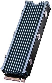 QIVYNSRY M.2 heatsink 2280 SSD dubbelzijdige koellichaam met thermische siliconen pad voor computer pc PS5 PCIE NVME M.2 S...