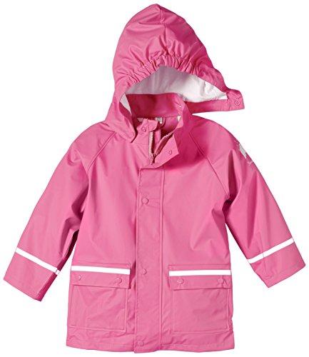 Sterntaler Unisex Kids Regenjacke ungefüttert Regenmantel, Pink 744 (New Hortensie), Größe: 128