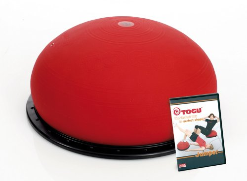 TOGU Jumper Balance Ball (Das Original) perfect shape set mit DVD