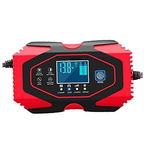 Mantenedor de cargador de batería de automóviles 12V 24V Mantener y reparación automática con pantalla LCD MÁS TIPOS VEHÍCULO DE VEHÍCULO DE LA BATERÍA DE LA BATERÍA DE LA BATERÍA DE LA BATERÍA DE
