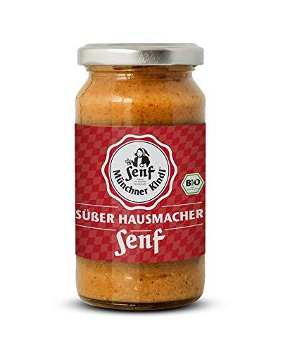 Münchner Kindl Senf Bio Süßer Hausmacher Senf (6 x 200 ml)