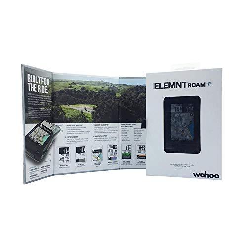 Wahoo Fitness ELEMNT ROAM GPS Bike Computer, Black - 6