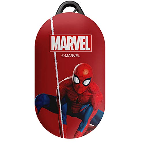 Action Hero Case Cover for Samsung Galaxy Buds/Buds+ Plus with Avengers Character (Spider Man - 1)