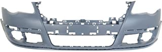Front Bumper Cover Compatible with 2006-2010 Volkswagen Passat Primed and Park Assist System