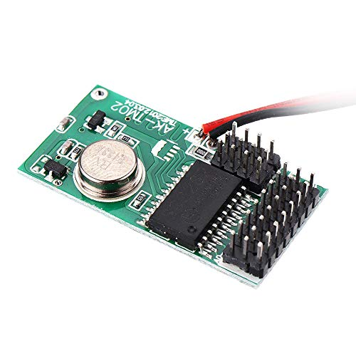 MING-MCZ Duradero Transmisor inalámbrico DC5-12V con Coded módulo Remoto 433MHz Control de 3pcs Fácil de Montar