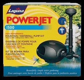Laguna Water Garden - Powerjet Fountain Pump Kit 1500 Gph - PT8208-PT332