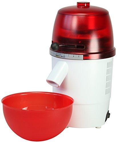 Jupiter 878060 Elektro-Getreidemühle Novum, rot/weiß