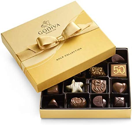GODIVA Chocolatier Chocolate Gold Gift Box Assorted 19 Count product image