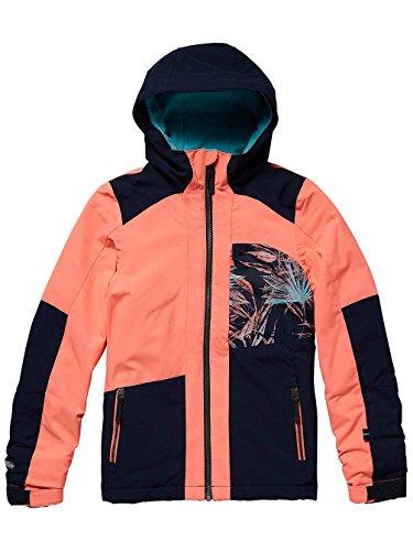 O'Neill Mädchen Kinder Snowboard Jacke Cascade Jacket Girls, neon Tangerine pink, 152