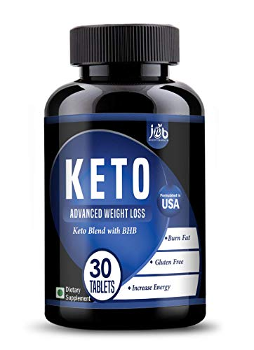 JNB keto Advanced Weight Loss Supplement with Tea and Garcinia Cambogia and Green Coffee Extract, 800 mg (30 Tab)