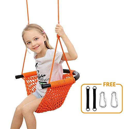 Donghoodshop Kids Swing Seat Heavy Duty Rope Play...
