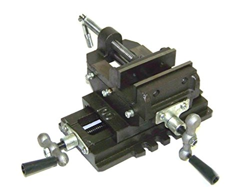 Best Price akasaw98 Heavy Duty 6 inch Cross Drill Press Vise Slide Metal Milling 2 Way Clamp Vice
