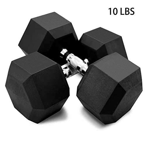 2PCS Set Weight Dumbbell Fitness Dumbbell Sports Dumbbell Set mildily Halt/ère Set Men and Women Daily Exercise Strength Training