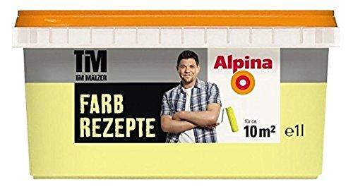 ALPINA Farbe Tim Mälzer Farbrezepte 1 L., Zitronenfalter, Zitrone, Gelb