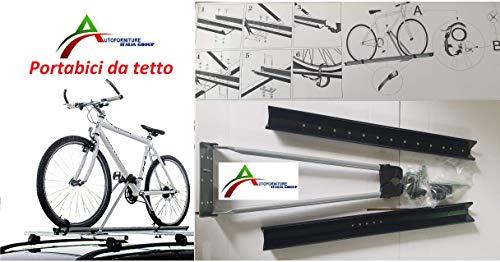 Autodeur, Italiaanse fietsendrager voor imperiaal voor imperiaal, diameter max. 40 x 60 mm, eenvoudig te monteren.