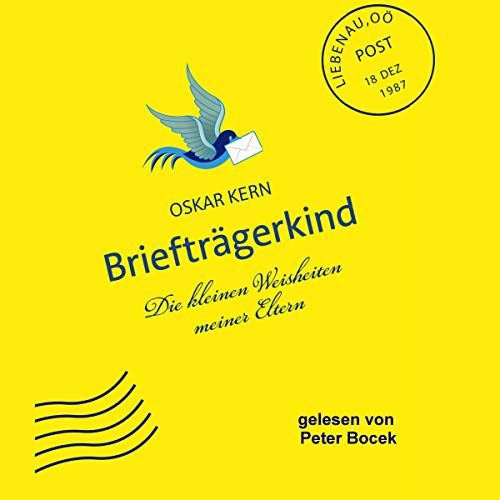 Briefträgerkind audiobook cover art