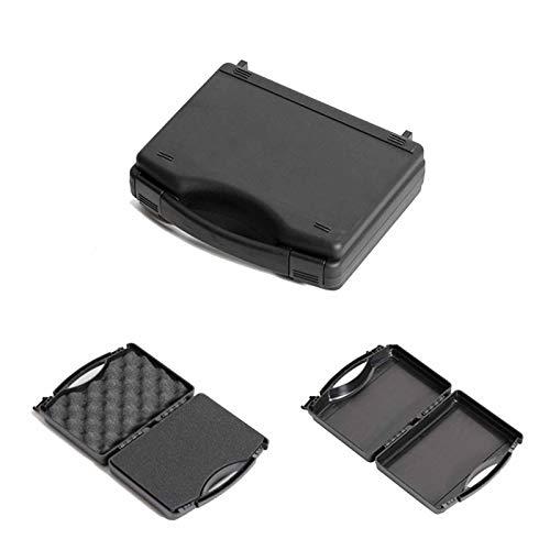 Caja de herramientas sellada de plástico ABS, equipo de seguridad resistente al impacto y maleta a prueba de golpes con espuma negra (Size : 250x215x80mm)