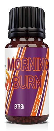 NEU: HelloNutrition MORNING BURN Globuli EXTREM, natürlich VEGAN hochdosiert für Männer und Frauen - für einen perfekten Start in den Tag – ENERGIE - STOFFWECHSEL - STARK