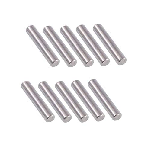 20 Pcs M5x40mm Dowel Pin 304 Stainless Steel Shelf Support Pin Fasten Elements,304 Stainless Steel Cylindrical Pin Locating Dowel Support