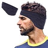 Lauzq Ear Warmer Headbands- Winter Sport Ear Muffs for Men & Women- Warm & Stretch Fleece Earmuffs for...