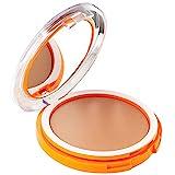 Korff Korff Sun Secret Fondotinta Compatto Solare SPF50+, Protezione Alta UVB e UVA, Trattamento di Maquillage, Finish Naturale, Pelli Chiare, 01, 6ml - 30 g