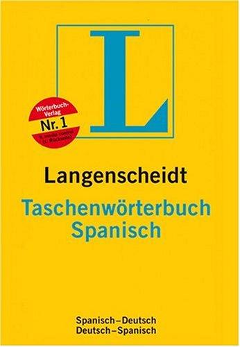 Langenscheidt Taschenwörterbuch Spanisch: Spanisch-Deutsch /Deutsch-Spanisch