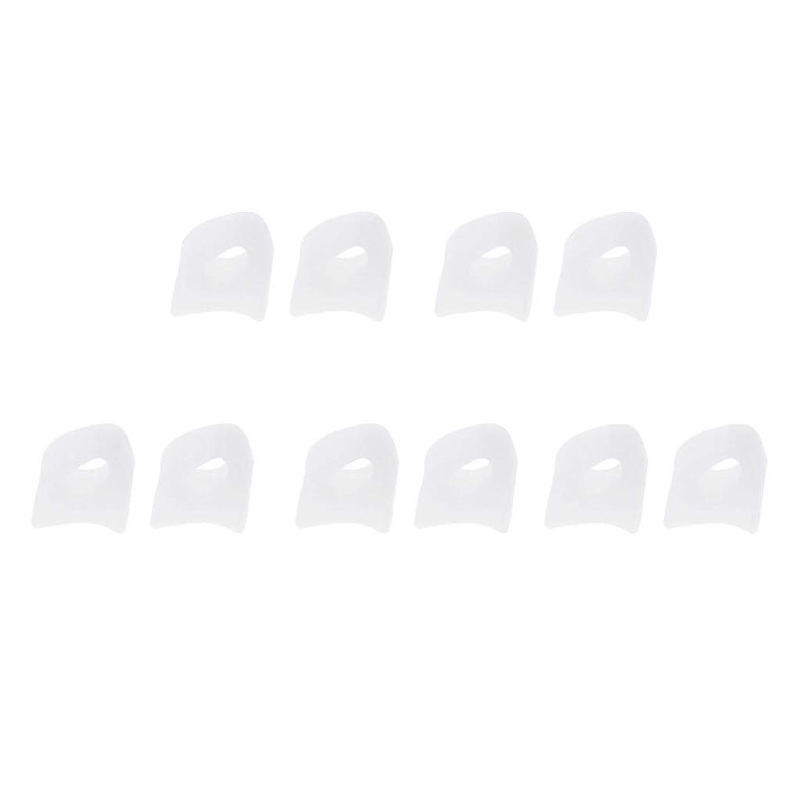 5ペア 足指セパレーター 柔らか ゲルトートセパレーター 2サイズ選べ - M